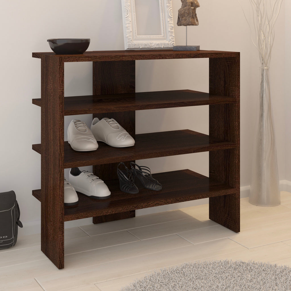 Aramis 3-Tier Shoe Rack, Entryway Shoe Shelf, Shoe Cabinet - Furniture.Agency