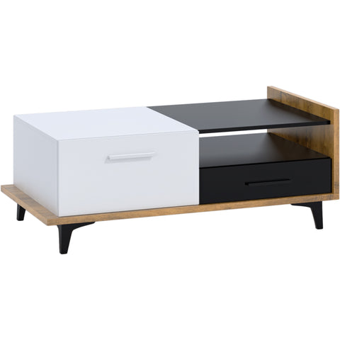 Box One Drawers One Cabinet Coffee Table
