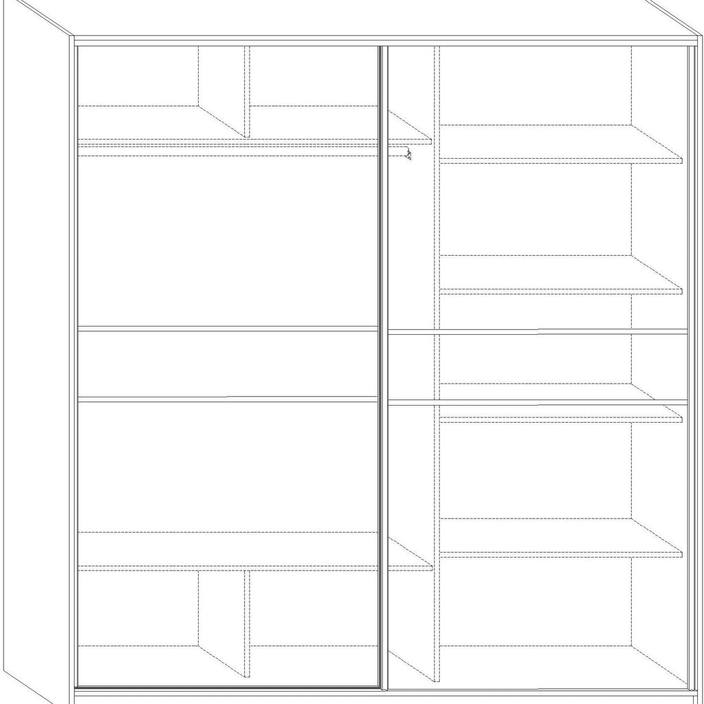 PUERTO Sliding 2-Door Wardrobe