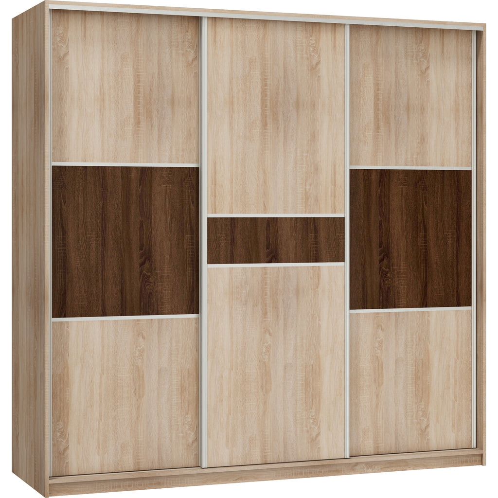 RICO Sliding 3-Door Wardrobe - Furniture.Agency