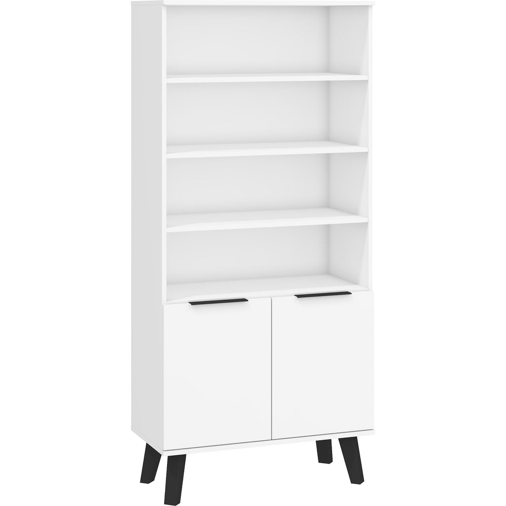 SVEN Multi-purpose Bookshelf with Cabinets - Furniture.Agency