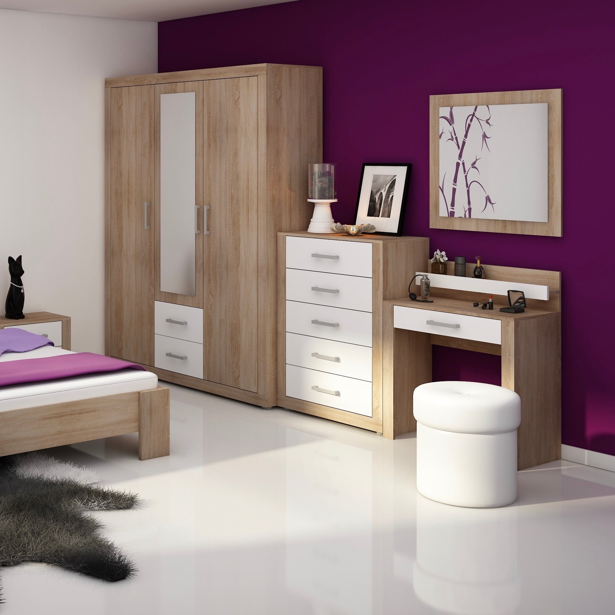 VIKI 5 Drawer Dresser
