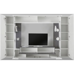 "Luxor High Gloss Entertainment Center for TVs up to 43"" - Furniture.Agency"