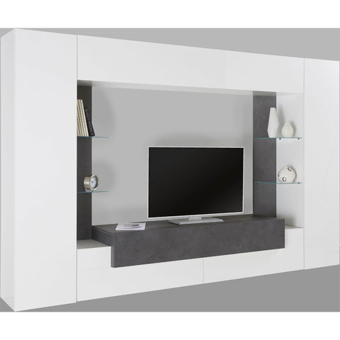 Luxor High Gloss Entertainment Center for TVs up to 43""