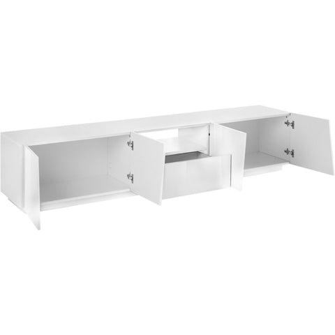 VEGA 86-inch 2 Cabinet 1 Drawer High Gloss TV Stand