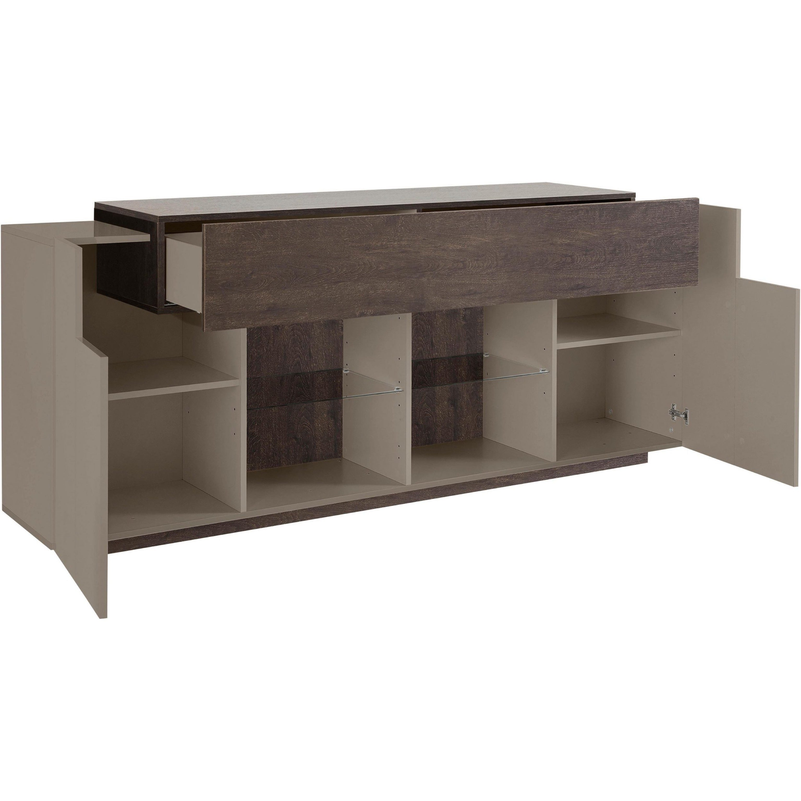 Asia 2 Cabinet High Gloss Sideboard