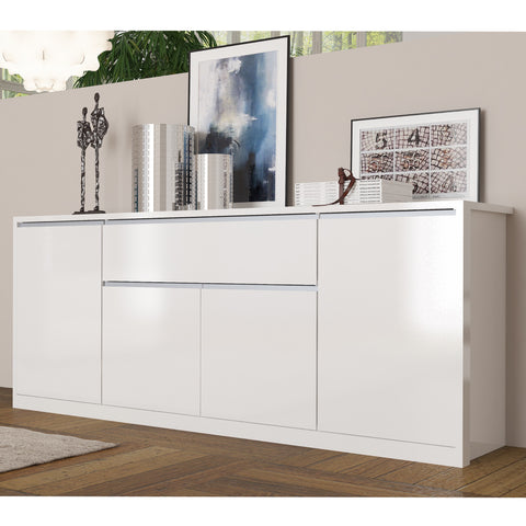 Mito 83-inch 3 Cabinet 1 Drawer Sideboard