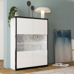 MITO 2 Glass Door Side Cabinet - Furniture.Agency