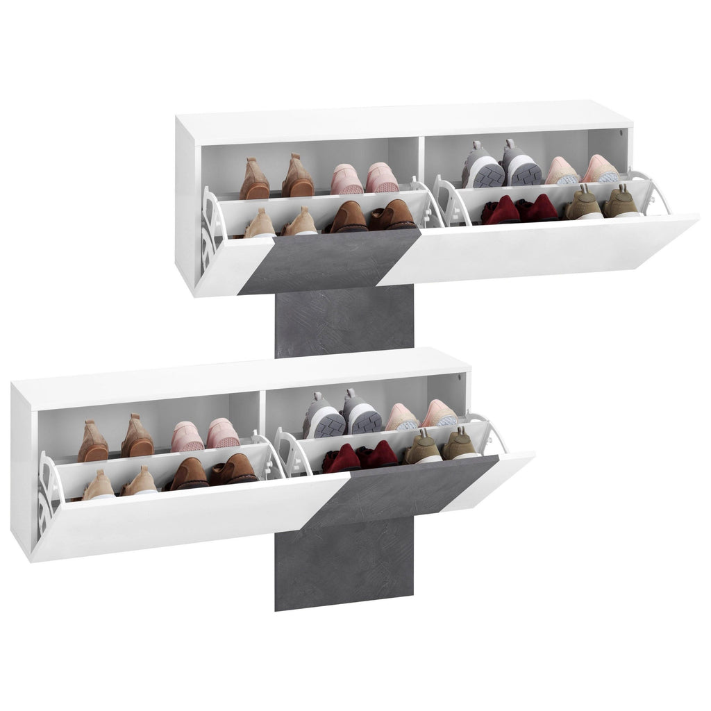 Cross Shoe Cabinet