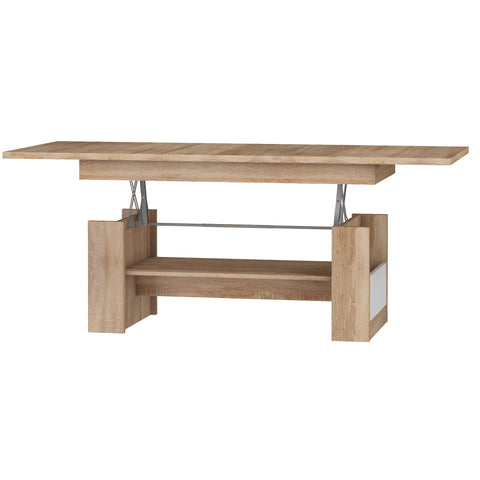 Maximus Adjustable Coffee Table With Extension, Multiple Finishes