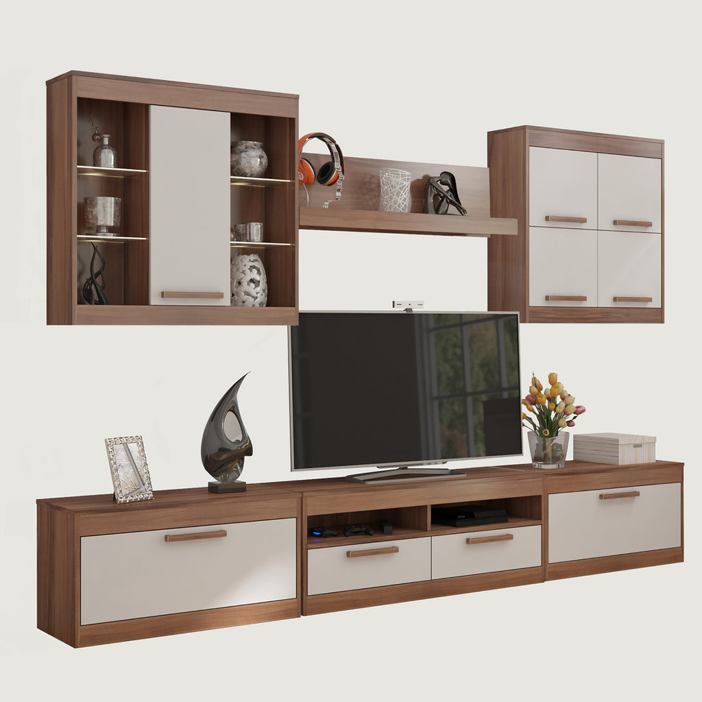 Maximus 6-piece TV Set, Multiple Finishes - Furniture.Agency