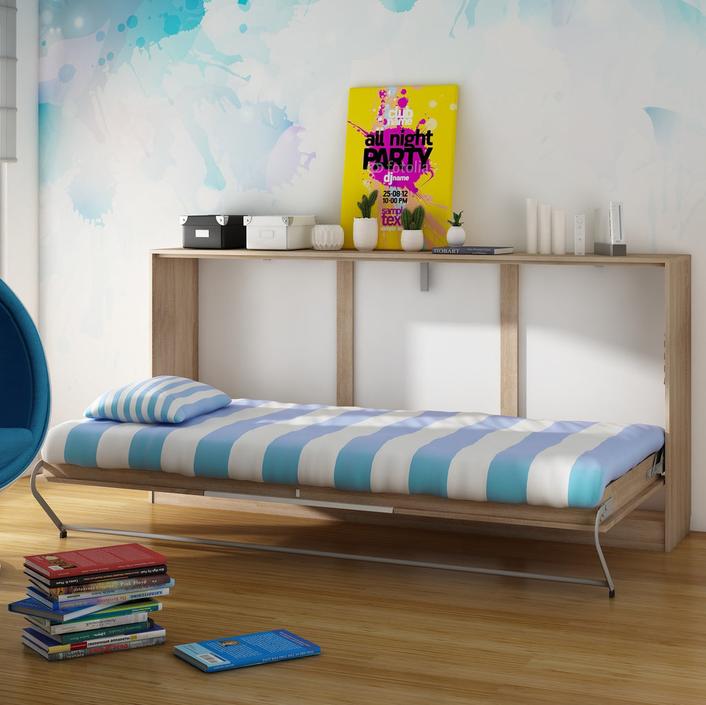 Roger European Single Kids Murphy Bed - Furniture.Agency
