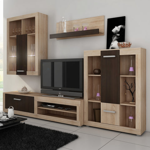 Viki 4-piece TV Set, Multiple Finishes