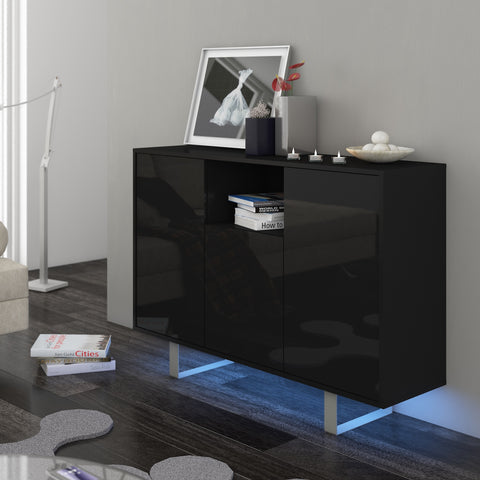 King High Gloss Sideboard, Multiple Finishes