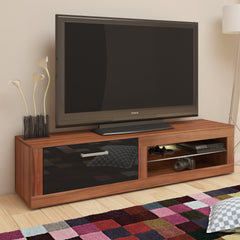 Viki High Gloss TV Stand With LED, Multiple Finishes - Furniture.Agency