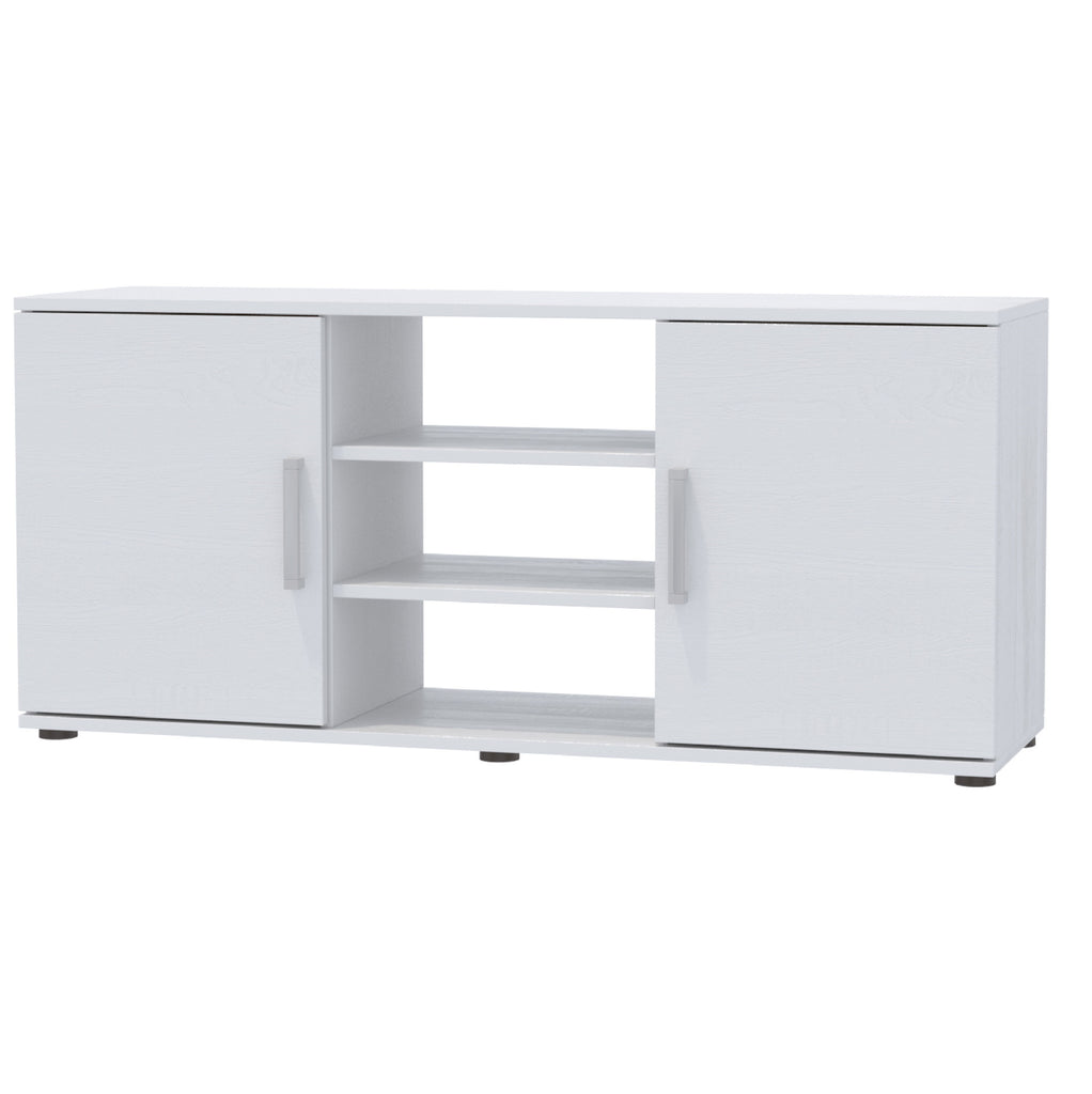 "NUVOLE  2 Cabinet TV Stand For TVs up to 55"" - Furniture.Agency"