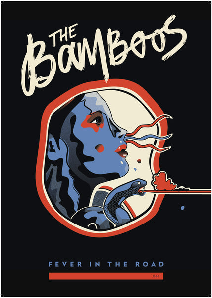 The Bamboos - Fever In The Road – Poster