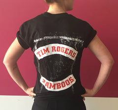Tim Rogers & The Bamboos 'Talkin' All That Rat' Shirt