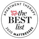 Apartment Therapy Recommends Helix as the Best Overall Mattress of 2020