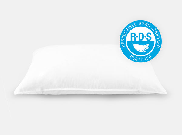 Helix Down & Feather Pillow - Responsible Down Standard Certified