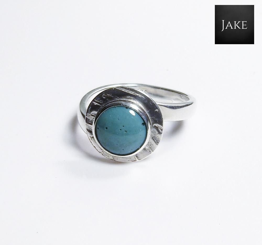 Leland Blue Adjustable Sterling Silver Ring