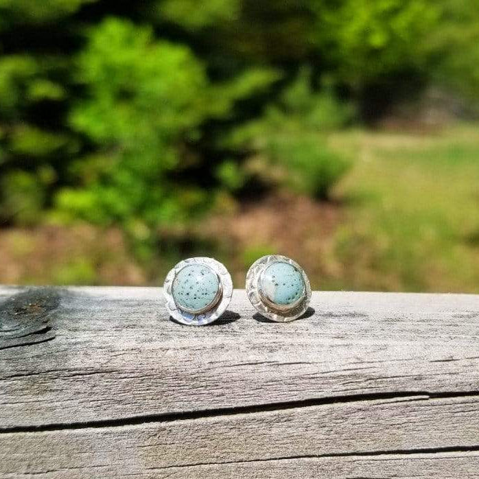 Leland Blue Stud Earrings