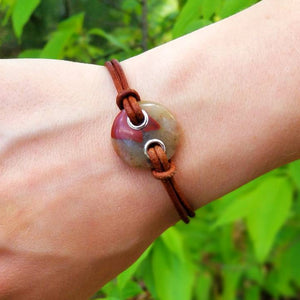 Puddingstone Bracelet