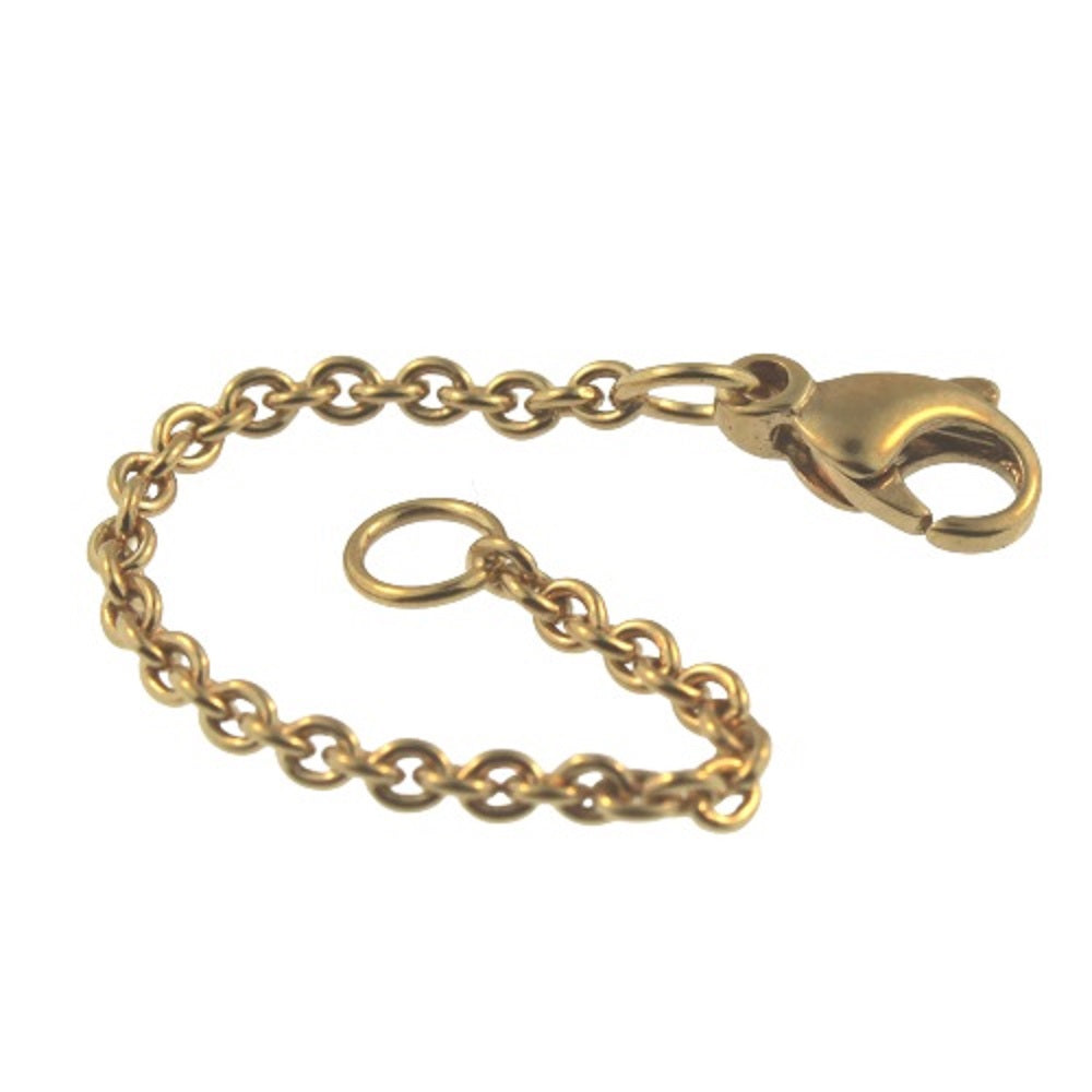 Novobeads Fit Trollbeads 20402 Novobeads Safety Chain, Gold