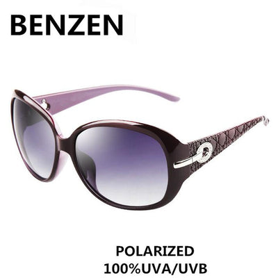 7aacfe5af7f Sunglasses Women Polarized Elegant Rhinestone Ladies Sun Glasses Female  Sunglasses Oculos De Sol BENZEN Shades With Case 6008