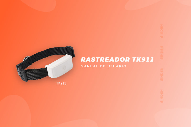 Manual de usuario: Rastreador TK911