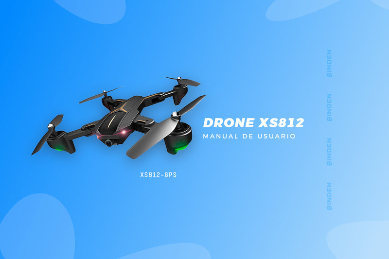 Manual de usuario: Drone XS812