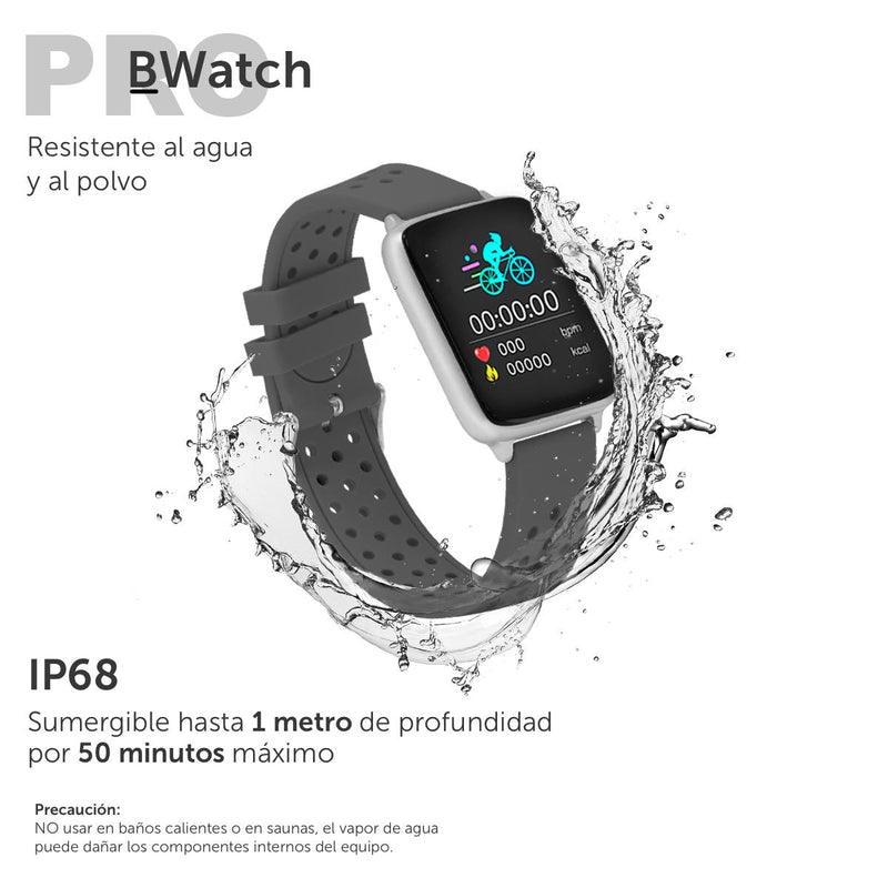Smartwatch BINDEN Bwatch Pro, Notificaciones, IP68