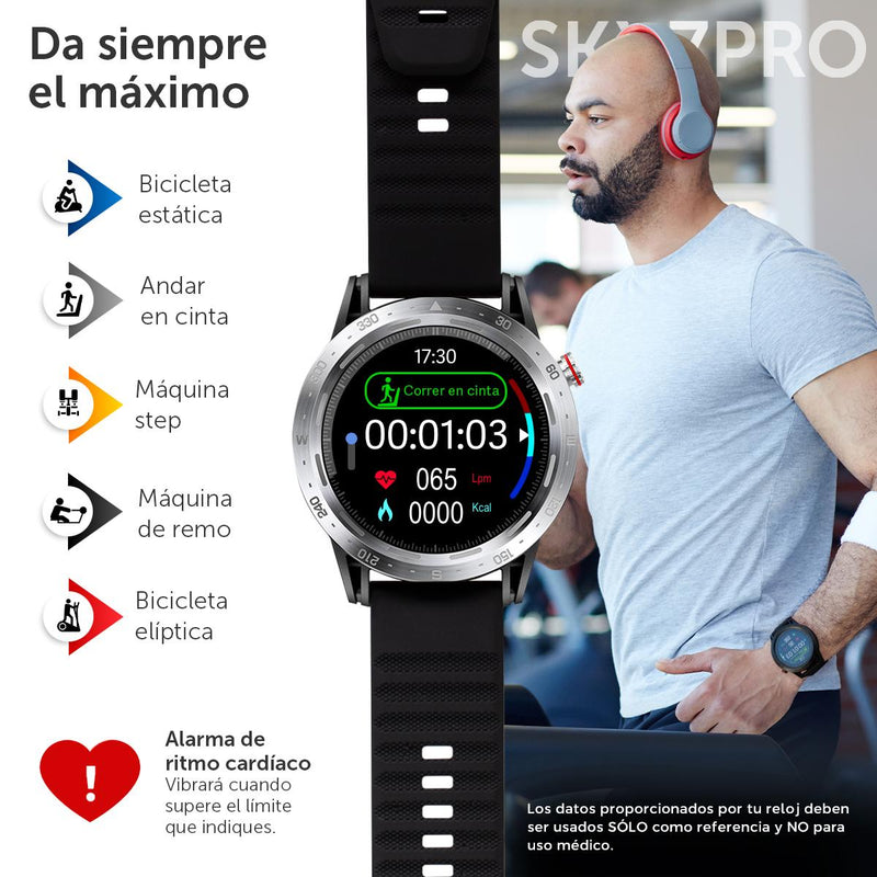 Smartwatch BINDEN SKY7 PRO Deportivo, Notificaciones iOS/Android