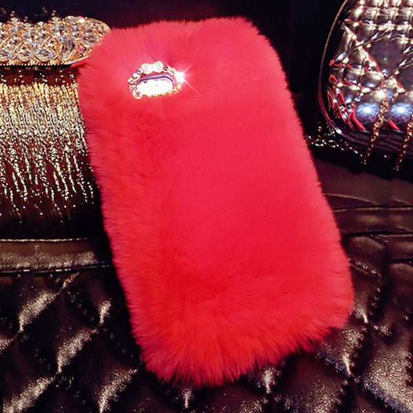 Luxury fluffy Phone Cover Case