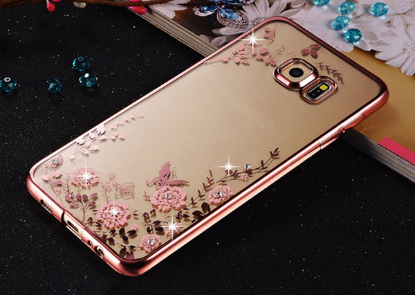 Floral Silicone Cases for Samsung Galaxy