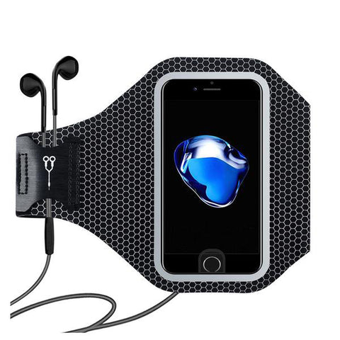 Honeycomb Sports Arm Band  For Iphone