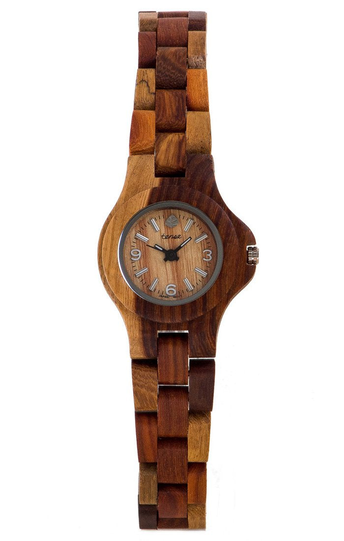 Tense Northwest L4300I Women's Wooden Watch