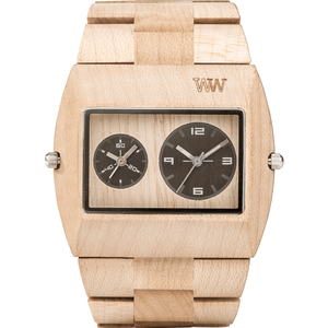 WeWood Jupiter RS Beige Wooden Watch