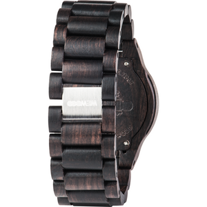WeWood Oblivio Black/Blue Wooden Watch