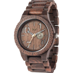 WeWood Oblivio Chocolate Wooden Watch