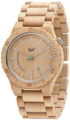 WeWood Assunt Beige Wooden Watch