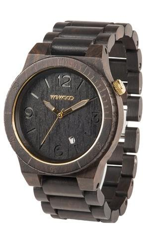 WeWood Alpha Black Wooden Watch
