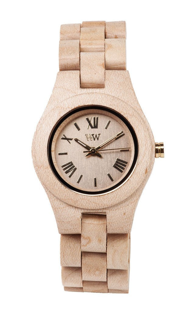 WeWood Criss Beige Wooden Watch
