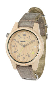 WeWood Duhbe Beige Choco Wooden Watch