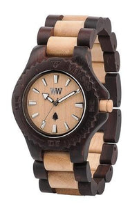 WeWood Date Choco-Beige Wooden Watch