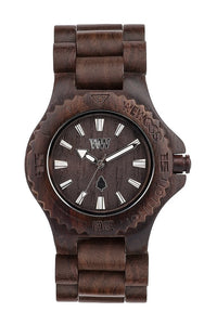 WeWood Date Chocolate Wooden Watch
