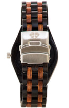 Tense Oregon J5800DR Octagonal Wooden Watch w/ Studs