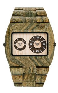 WeWood Jupiter Army Wooden Watch