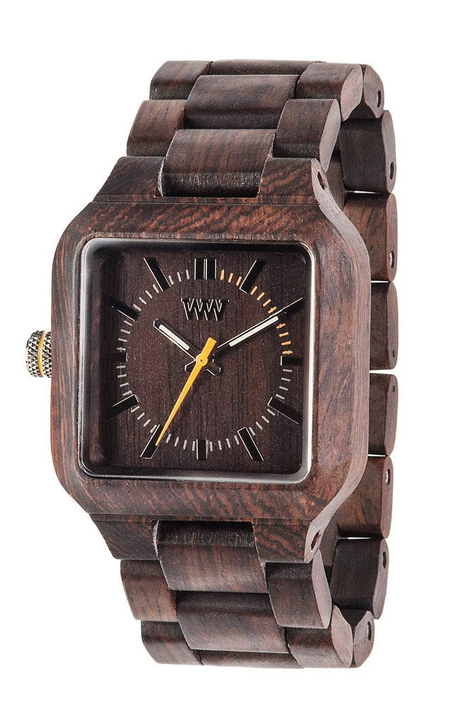 WeWood Mira Chocolate Wooden Watch