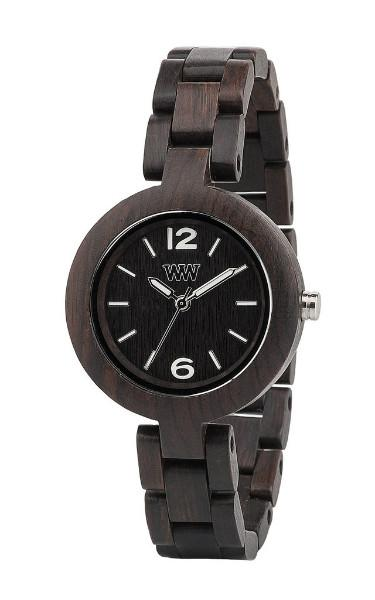 WeWood Mimosa Black Wooden Watch
